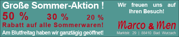 20 Jahre marco & men Bad Wurzach