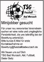 TSG Fußball