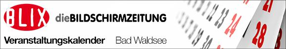 Veranstaltungskalender Bad Waldsee